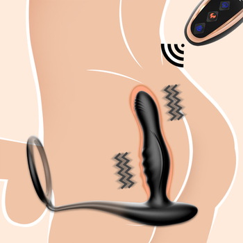Silicone Remote Anal Vibrator for Male Prostate Massager Tool Adult Gay Sex Toys Butt Dildo Tail Plug Women Masturbation Machine huge dildo butt plug male prostate massager adult toys anal vibrator wireless remote telescopic vibrator sex toys for gay men