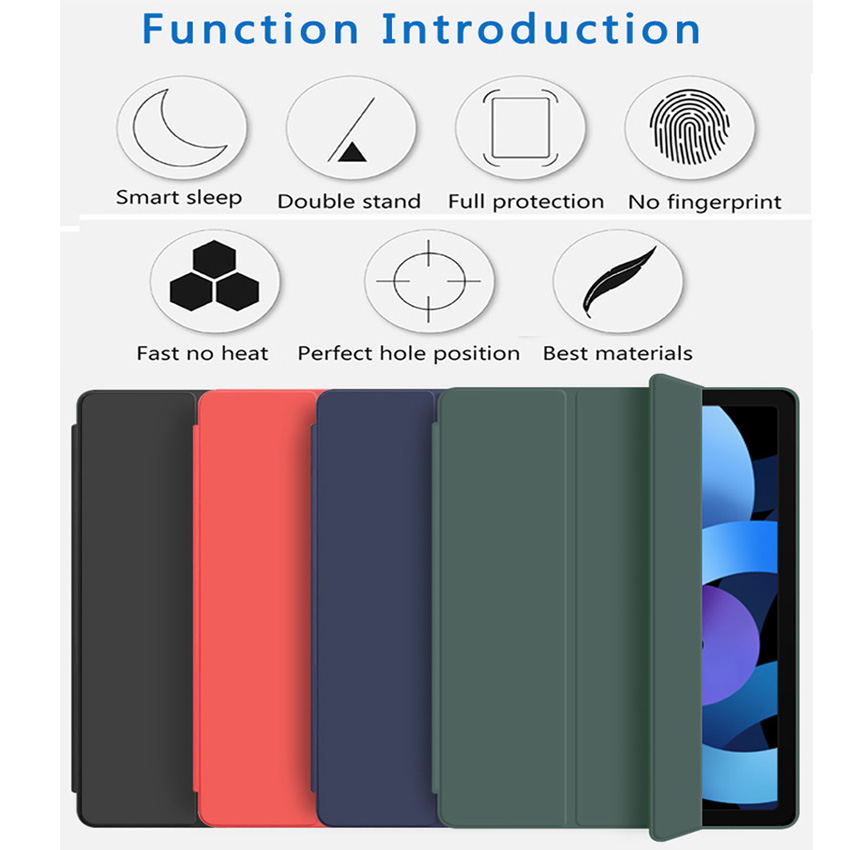 Flip Case For iPad Air 4 10 9 2020 Silicone Cover For iPad Air 4th generation