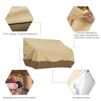Waterproof Outdoor Couch Cover 4 Chair And Sofa Covers