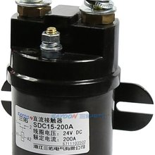 SDC15-200A DC6V 12v 24V 36V 48V 60V 72V  200A contactor used for electric vehicles, engineering machinery and so on.
