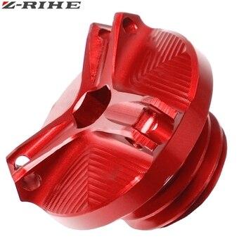 Tapón de llenado de aceite de motocicleta para SUZUKI GSX250R GSXR600 GSXR700 GSXR1000 GSXR1100 GSX1300R HAYABUSA GSX-R125 GSX-R1000R ABS