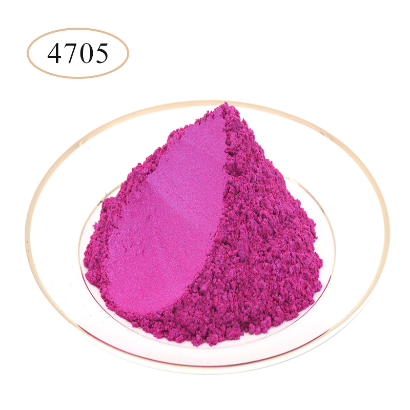 Type 4705 Pearl Powder Pigment   Mineral Mica Powder DIY Dye Colorant For Soap Automotive Art Crafts Mica Pearl Powder 10g/50g