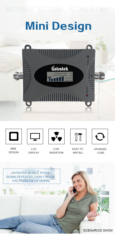 Mobile LTE Booster Lintratek 1