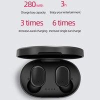 TWS беспроводные Bluetooth наушники для Redmi Airdots наушники беспроводные наушники 5,0 гарнитуры auriculares Ouvido Draadloze Oordopjes