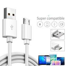 1M mikro USB tip hızlı şarj telefon veri şarj kablosu Samsung S5 S6 S7 Galaxy A3 A5 A7 xiaomi Redmi kablosu Android