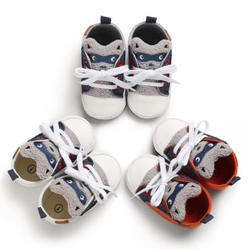 2020Baby Boys Girls Shoes Animal Pattern Baby Shoes Spring Autumn Anti-slip Toddler Indoor Shoes Newborn Footwear First Walkers print baby first walkers girls toddler shoes 11cm 12cm 13cm spring autumn children footwear
