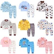 Children Casual Pajamas Clothing Set Boys & Girls Cartoon Sl