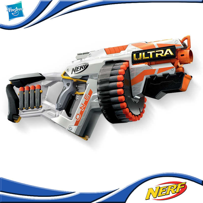 Hasbro NERF Senapan Listrik Baru Ultra Aurora Seri Satu 1 Launcher Anak Mainan Listrik Gun E6595 Mainan Hadiah