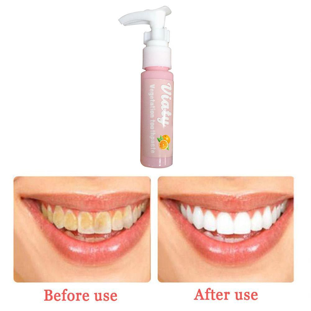 Toothpaste Stain Removal Whitening Fruit Flavor Toothpaste Bleeding Oral Breath Care Fresh Gums Fight Teeth Health N6S2