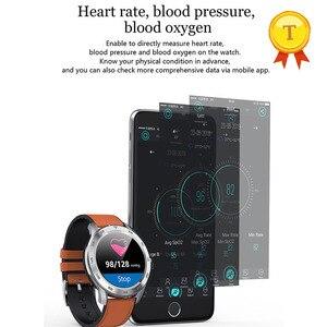 "Image 2 - 2019 עמיד למים שחייה חכם שעון אק""ג ppg קצב לב לחץ דם חמצן Smartwatch כושר Tracker צמיד צמיד גבר"