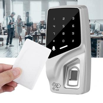 125KHz RFID Semiconductor Password Touch Keypad Fingerprint Metal Access Control Machine