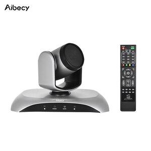 Image 4 - Aibecy caméra de conférence vidéo 1080P FHD USB, Plug Play, balayage automatique à 360 °, avec télécommande à infrarouge