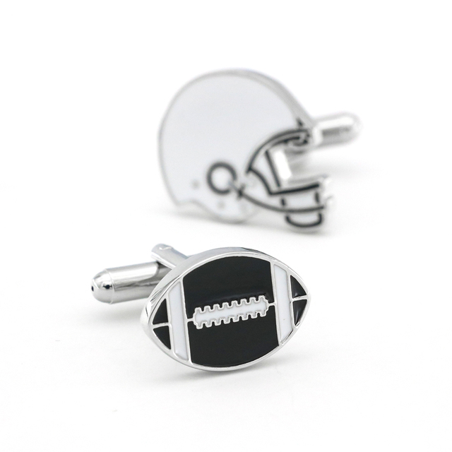 Cufflinks American Football Rugby Design