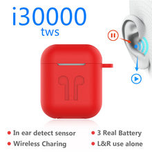 I30000TWS pop-up copia 1:1 usando auriculares inalámbricos solo Subwoofer Bluetooth 5,0 auriculares i30 TWS PK i20 i10 i12 W1 chip(China)