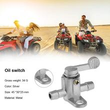 Motorbike Replacement Oil Valve Pump Switches For ATV Dirt Bike Motorcycle Inline Gas Fuel Tank Tap On Off Petcock Switch cheap CN(Origin) metal Fuel Filter Motorcycle Inline Fuel Tank Tap On Off Petcock Switch 4 5cm 2 5cm Motorcycle Fuel Switch Motorbike Fuel Supply System Accessories