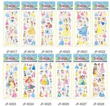 цена на NEW 12pcs /set  Snow White  stickers for kids Home decor on laptop cute car sticker decal fridge doodle toy Superwings 3D stick