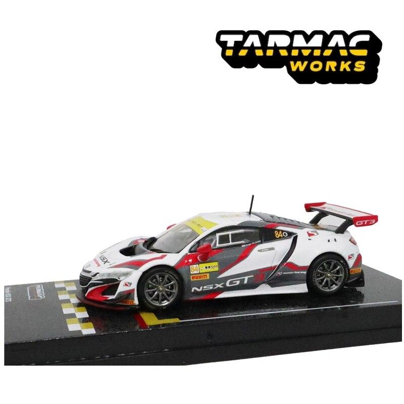 Tarmac Works 1:64 Honda NSX GT3 Macau GT Cup FIA GT World Cup 2017 Racing Diecast Model Car