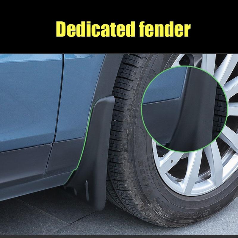 Mud Flaps For Porsche Cayenne 2011-2017 92A Splash Guard Fender Accessories