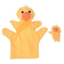 Yellow Duck Hand Puppet Finger Puppet little shark finger puppet book