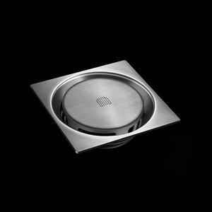 Image 5 - Xiaomi novo vortex 304 de aço inoxidável dreno de assoalho drenagem seca rápida anti bloqueio filtro de piso capa de chuveiro sala de cozinha dreno
