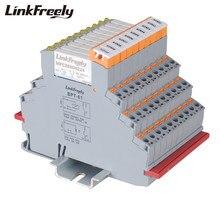 MPC250D6Z24BPT 10pcs Plug-in Primavera Collegato Industriale Relè 24V di Ingresso 250VAC 30VDC 6A Uscita Ultra-sottile modulo di Relè di tensione
