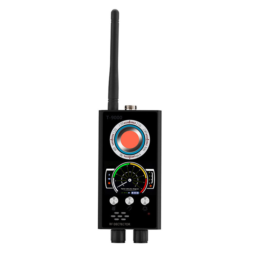 Détecteur de bogue sans fil multifonctionnel de traqueur de Signal portatif Audio Rechargeable automatique de GPS Anti détecteur de caméra de Scanner d'espionnage