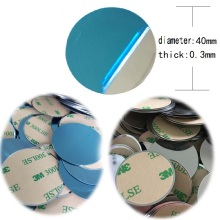 Iron-Sheet Magnet Car-Phone-Stand-Holders Plate-Disk for Metal 40x0.3mm Free