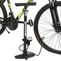 Ножной насос для велосипеда с манометром 170PSI, насос высокого давления с манометром, велосипедный шинный насос, Аксессуары для велосипеда