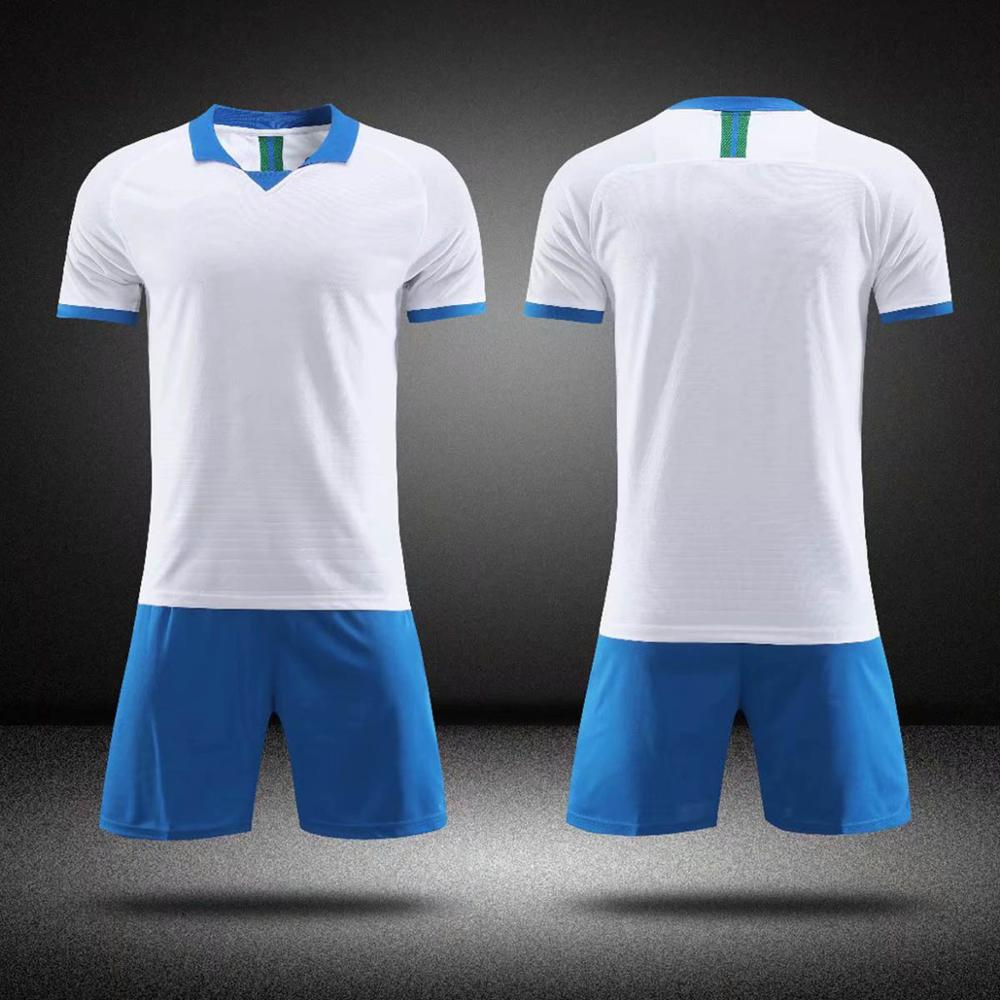 2019 new adult children 39 s football jersey suit suit football shirt training suit football sweatshirt shorts custom logo and name in Soccer Sets from Sports amp Entertainment