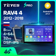 TEYES SPRO Radio Multimedia no 2 din android 8,1 8.1 Video Player di Navigazione GPS Per Toyota RAV4 4 5 XA40 XA50 2013-2018(China)
