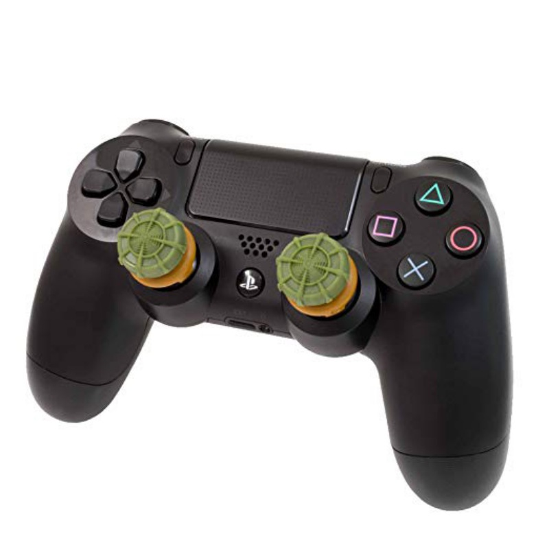 For PS4 Game Controller Pad Silicon Rubber Joystick Analog Button Extenders Extenders Covers With Package