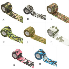 Hunting Tape Reusable Self-adhesive Elastic Stretch Non-woven Cloth Bandage Sport