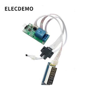 Image 3 - Tellen sensor module Optische/Hal schakelaar sensor Puls signaal tellen frequentie converter Seriële poort