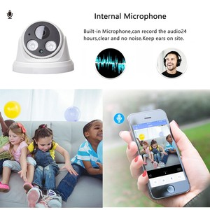 Image 4 - Hamrolte Wifi Camera HD1080P Yoosee Wireless Indoor Onvif Camera Nightvision Motion Detection RSTP Internal Microphone TF Slot
