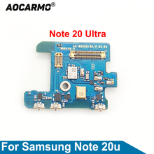 Aocarmo Top  Microphone Module Element Noise Reduction Mic Circuit Board For Samsung Galaxy Note 20 Ultra 20u