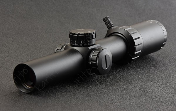 1-6x24 IR Center Red Dot Illuminated Rifle Scope Fit CQB .223 AR15 .308 Hunting Shooting M8907