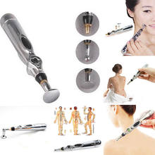 Electronic laser Acupuncture Pen Meridian Body Massager Pain Relief Therapy(China)