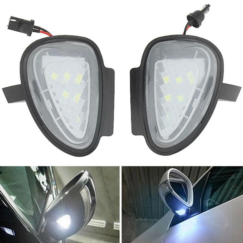 2 шт., Автомобильные светодиодные подсветки для зеркала Volkswagen VW Golf 6 GTI