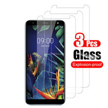 3Pcs/Lot Tempered Glass Screen Protector For LG G6 G7 K40  Stylo 5 V20 V30 K10 2017 Protective Screen Protector protective clear screen protector for lg nexus 5 transparent