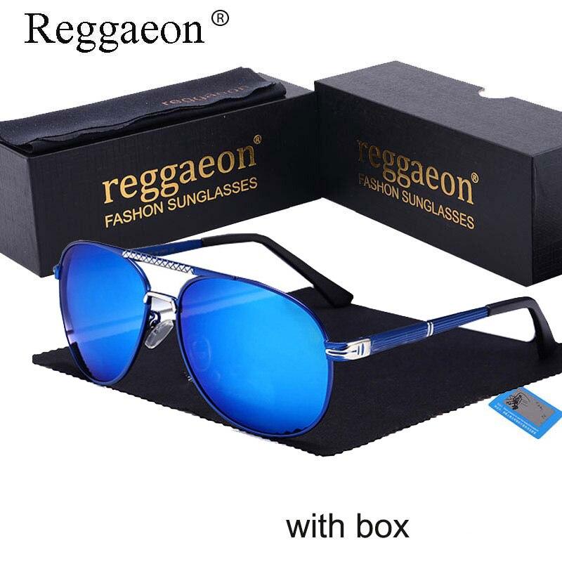 Reggaeon superbe hommes lunettes de soleil lunettes lumière polarisée 753 lunettes de soleil