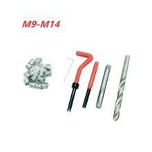 M9 M10 M11 M12 M14 samochodu Pro cewki wiertarka metryczne zestaw do naprawy i umieszczania gwintów dla Helicoil narzędzia do naprawy samochodu gruba łom tanie tanio OUIO CN (pochodzenie) M9X1 25 M10X1 5 M11X1 25 M11X1 5 M12X1 75 M14X1 25 M14X2 0inch NONE Silnik opieki Thread Repair