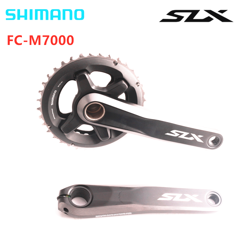 <font><b>Shimano</b></font> <font><b>SLX</b></font> <font><b>M7000</b></font> 22speed 2x11speed bike bicycle mtb <font><b>Crankset</b></font> without Bottom Bracket image