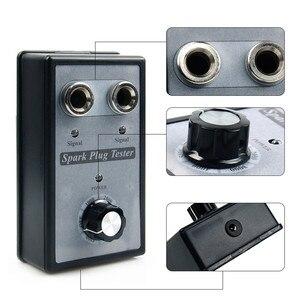 Image 5 - جهاز فحص شرارة الدراجة النارية, أداة تشخيص ولفائف الإشعال ذات الفتحات المزدوجة القابلة للتعديل ، وكاشف شرارة