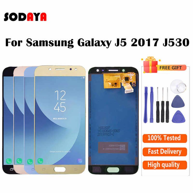 Luminosité réglable pour Samsung Galaxy J5 2017 J530 J530F SM-J530F écran LCD + écran tactile numériseur assemblée