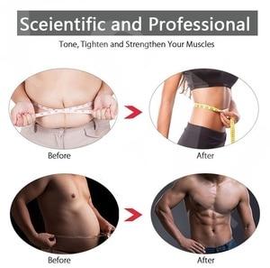 Image 3 - 32 Pçs/set EMS Trainer Abdominal ABS Músculo Abdominal Hip Conjunto Corpo Perda de Peso Emagrecimento Cinto de Massagem Estimulador Muscular Elétrica