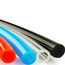 1 м/лот PU высокого давления пневматический компонент OD Air Line полиуретановый шланг для компрессора один метр