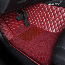 Custom car floor mats for Toyota Corolla Camry Rav4 Auris Prius Yalis Avensis Alphard 4Runner Hilux highlander sequoia foot mats(China)
