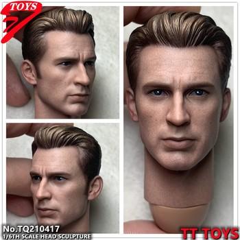 TTTOYS 1 6 żołnierz głowa rzeźba Model uroda 7 0 głowa Sculpt dla 12 Cal ciało w magazynie tanie i dobre opinie lalki 7-12y CN (pochodzenie) Unisex not real PIERWSZA EDYCJA Wyroby gotowe PL2019-130 Zachodnia animacja Produkty na stanie