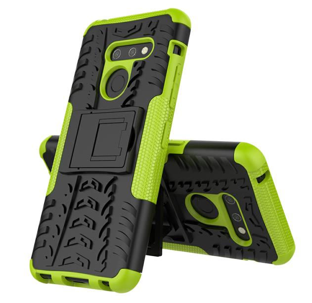Conelz For LG G7 G8 G6V50 V30 K40 Case Heavy Duty Rugged Shield Shockproof Aromor Silicone Protective Cover for