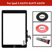 For ipad Air Touch Screen Digitizer Glass lens Sensor panel Repair For ipad A1474 A1475 A1476 Tablet Touchscreen For ipad 5